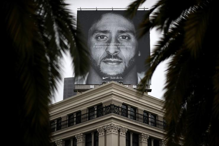 Kaepernick billboard in SF