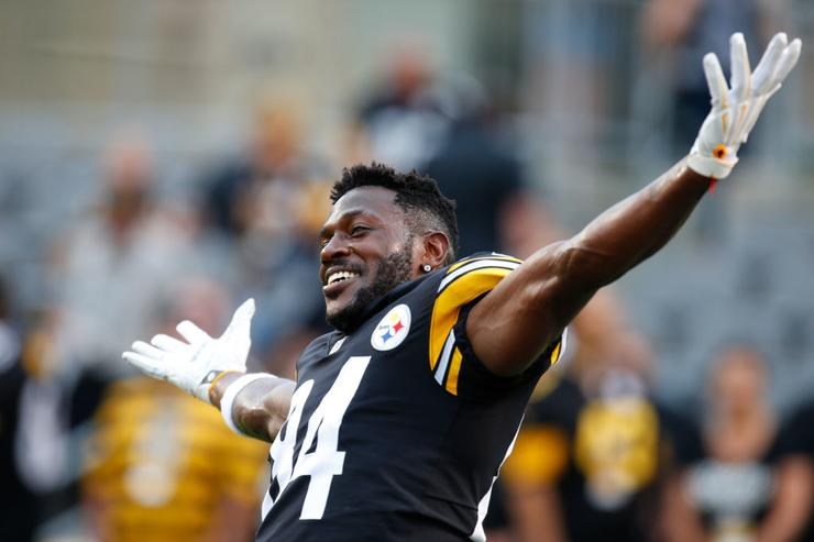 'Trade Me, Let's Find Out': Antonio Brown Responds To Twitter Criticism