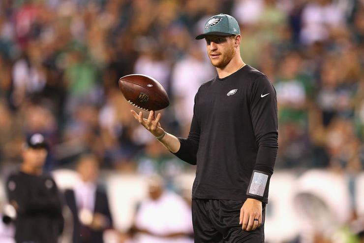 Carson Wentz cleared for contact, will start Sunday