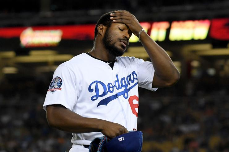 Burglars are running wild at Yasiel Puig's house