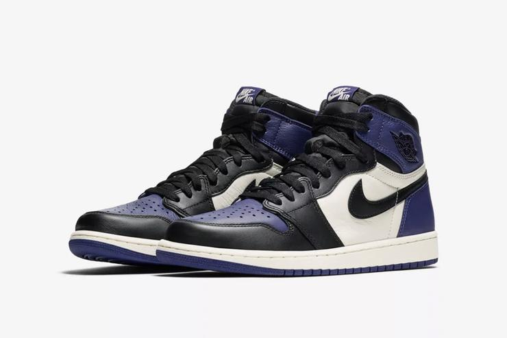 Court Purple Air Jordan 1