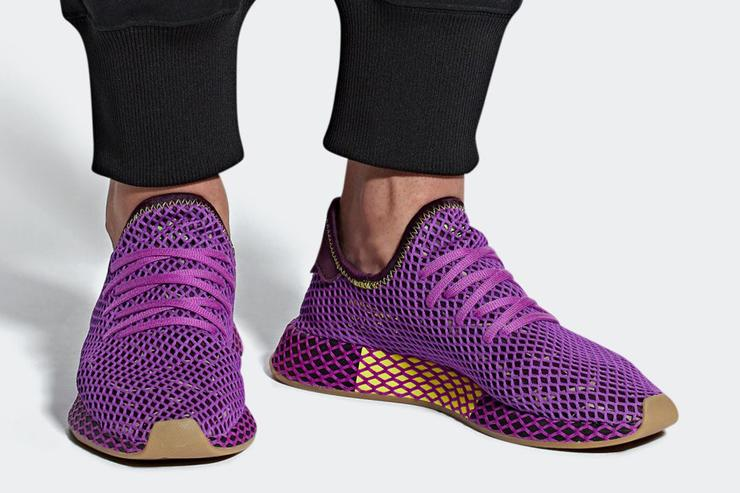 "d22c385e0cabf6 Dragon Ball Z x Adidas Deerupt ""Son Gohan"" Official Images"