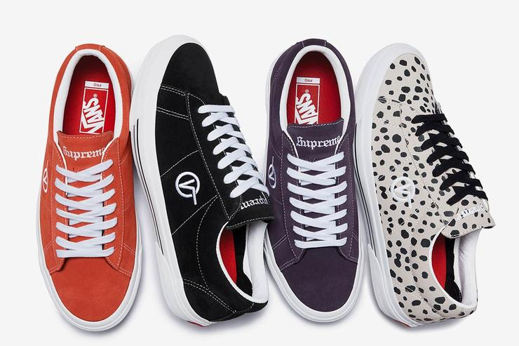 cf32f0b46081 Supreme x Vans Sid Pro Collection Unveiled