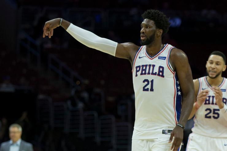 Embiid signs endorsement deal with Under Armour, says it's 'bigger than basketball'