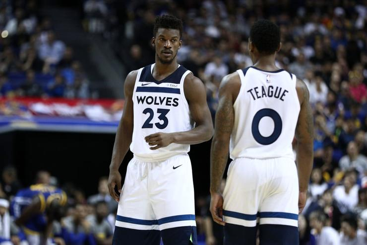 Butler makes emotional return to Timberwolves practice