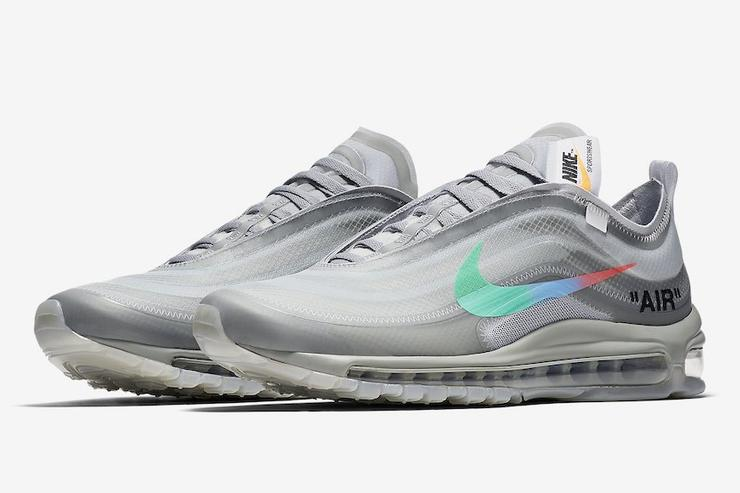 "sale retailer 78374 c31a9 Off-White x Nike Air Max 97 ""Menta"" Release Date Announced"