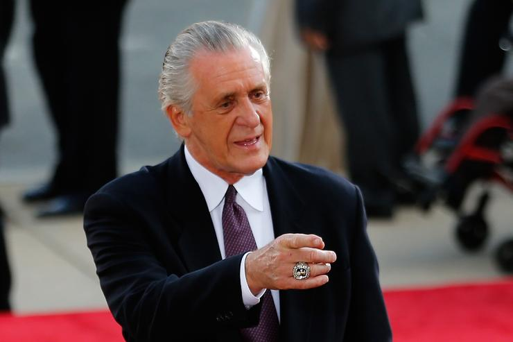 Pat Riley says he didn't curse out Tom Thibodeau on the phone