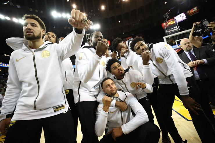 Golden State Warriors are now celebrating success
