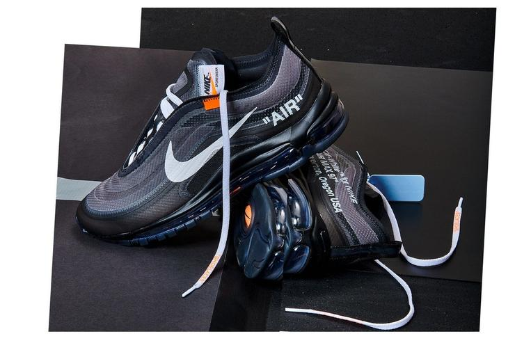 96527e4969d ... shopping off white x nike air max 97 black cone releasing soon via nike  snkrs 53ade
