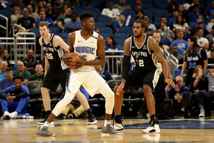 b15f7d03d46 Orlando Magic Rookie Mo Bamba Signs Sneaker Deal With Under Armour