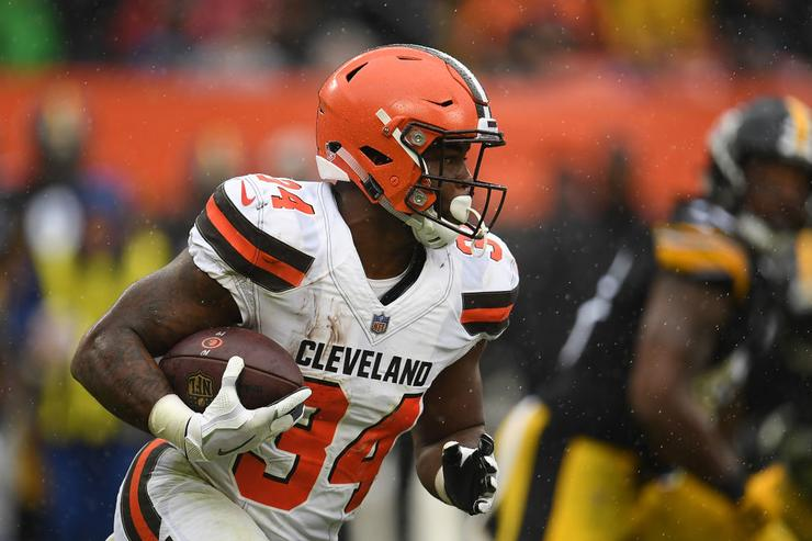 Jaguars acquire RB Carlos Hyde in trade with Browns