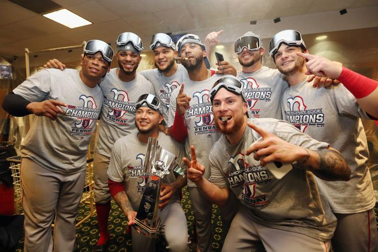 Red Sox beat Dodgers in World Series opener