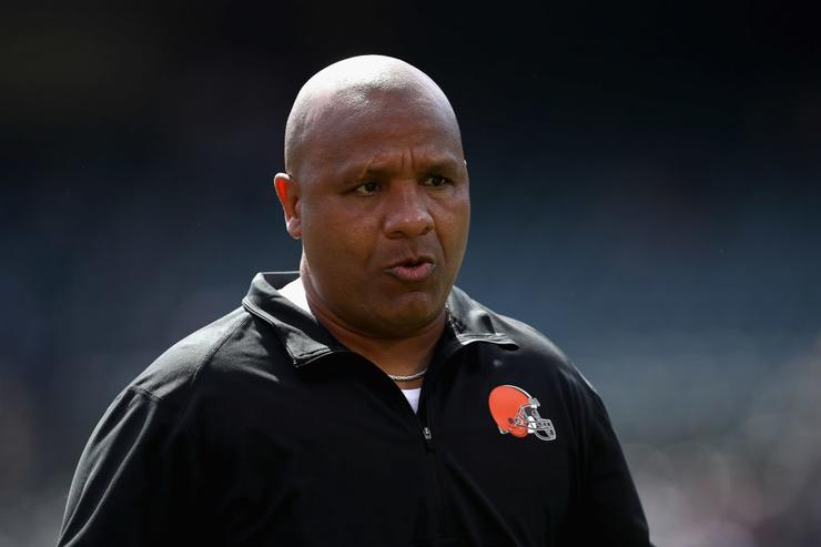 Browns head coach Hue Jackson relieved of duties