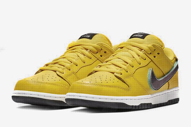 48771d97fab Diamond Supply Co. x Nike SB Dunk Low Surfaces In Yellow Colorway