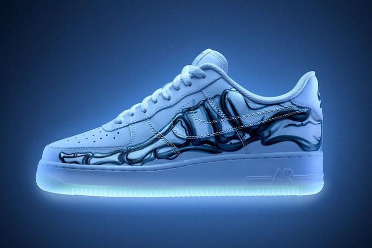 "Halloween-Themed Nike Air Force 1 ""Skeleton"" Releasing Today  Purchase Links 7bdb074f2"