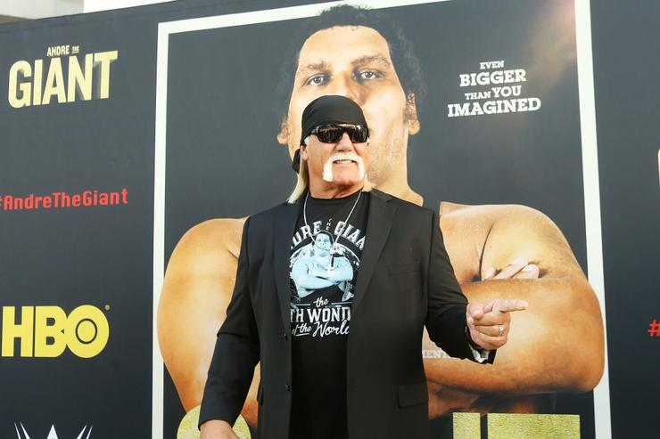 Hulk Hogan returns to WWE at controversial show in Saudi Arabia