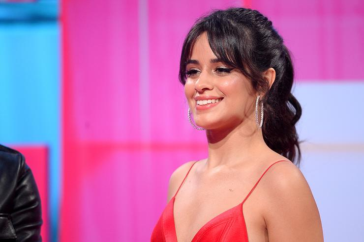 Camila Cabello Gets Consoled by Ariana Grande Over High Ponytail Pain