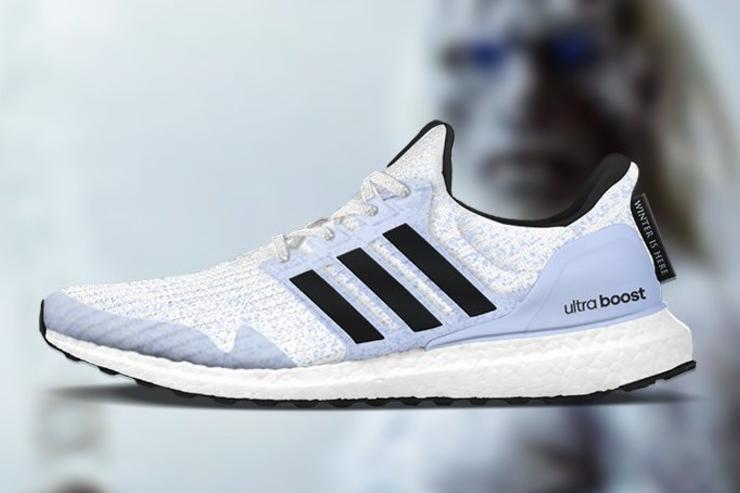 White Walker UltraBoost