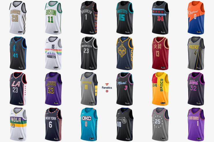 Nike x NBA City Edition