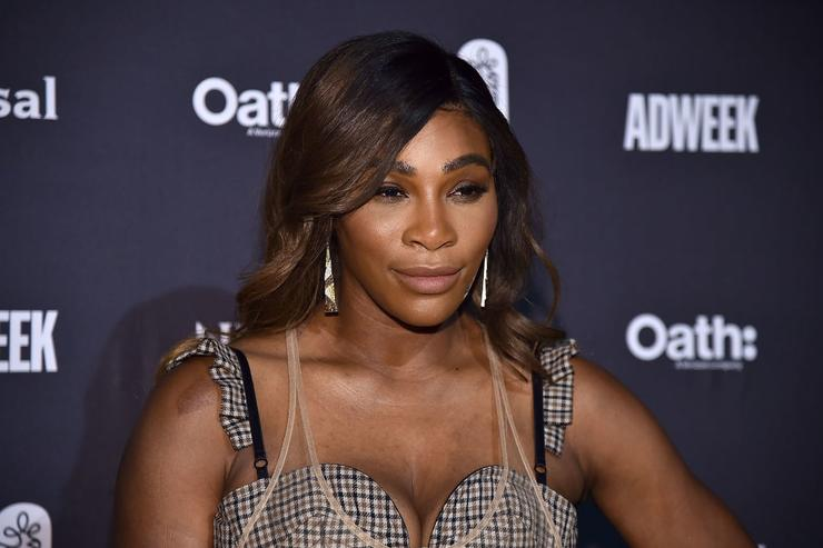 GQ criticised over Serena Williams 'woman' quotation marks on front cover