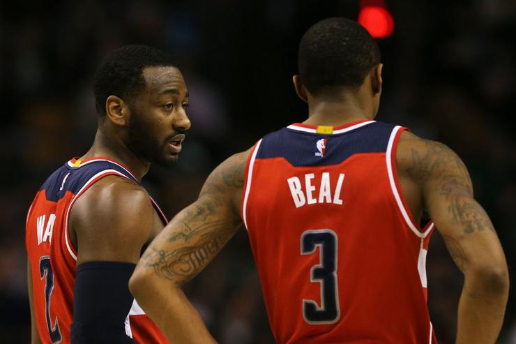 Wizards fine Wall for yelling expletive at coach Brooks