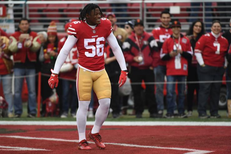 Eagles checked in on Reuben Foster