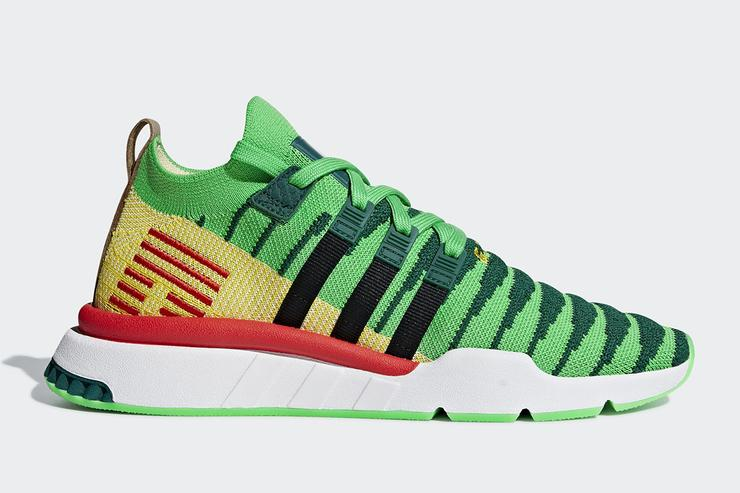 "cheap for discount dc810 3fbb9 Dragon Ball Z x Adidas EQT Support ""Shenron"" Official Images"