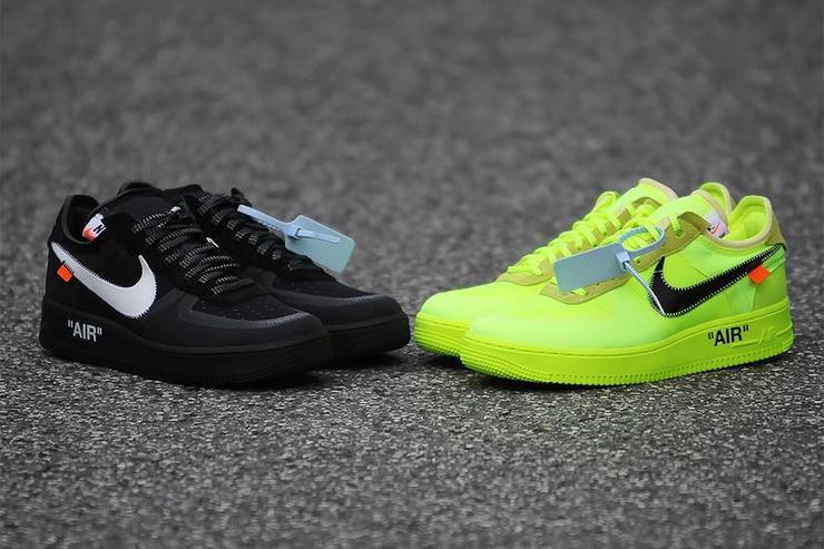 Off-White x Nike Air Force 1 Low Releasing In Two Colorways 60a32357be