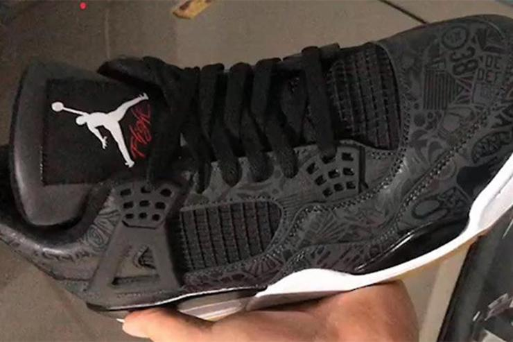 "Black ""Laser"" Air Jordan 4 Rumored For 2019  First Look 44ad4792b"
