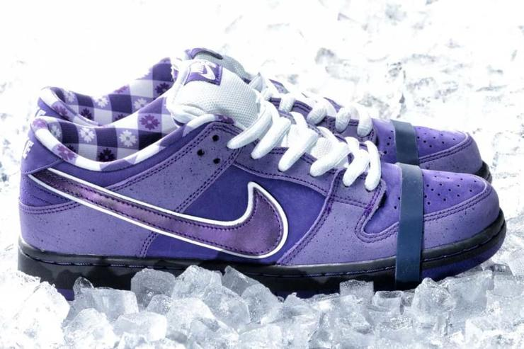"5b03a1a672b498 Concepts x Nike SB Dunk Low ""Purple Lobster"" Revealed  Release Details"